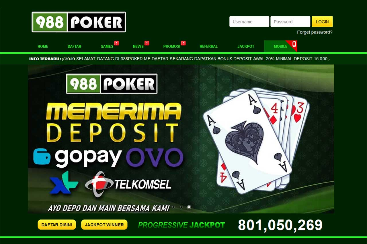 Newest 988poker qq